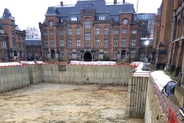 De_Leopoldskazerne_Werf_Bouw_Ondergrondse_Parking_Gent_Matexi_Democo_Woningen_Werken